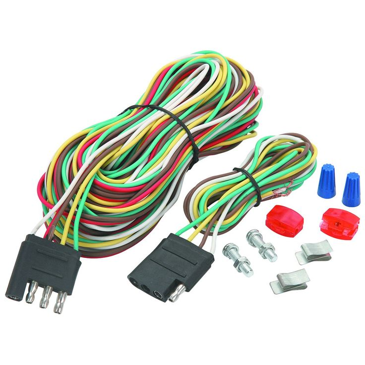 from harborfreight.com · Four-Way #Trailer Wiring Connection Kit  sc 1 st  Pinterest : harbor freight trailer lights wiring - yogabreezes.com