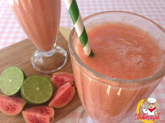 Resep Smoothie Jambu Merah, Resep Minuman Untuk Berbuka Puasa, Club Masak