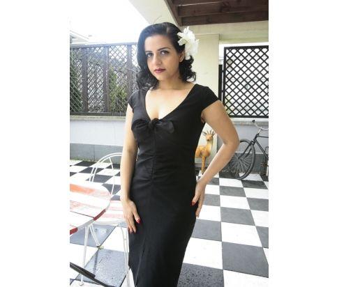 Sukienka retro Marilyn - wzorowana na sukience MM z filmu Niagara
