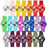 Amazon Angebote Herrenuhren Taffstyle Farbige Sportuhr Armbanduhr Silikon Sport Watch Damen Herren Kinder Analog Quarz Uhr:…%#Quickberater%