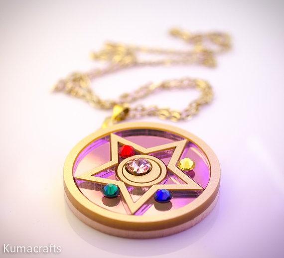 Sailor Moon! Season 2 Brooch by Kumacrafts.  GOT IT!