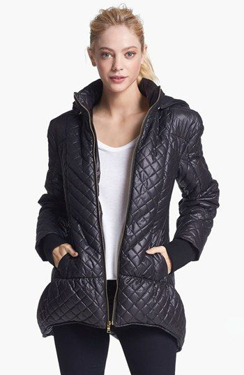 Alice + Olivia 'Aspen' Hooded Puffer Jacket available at #Nordstrom