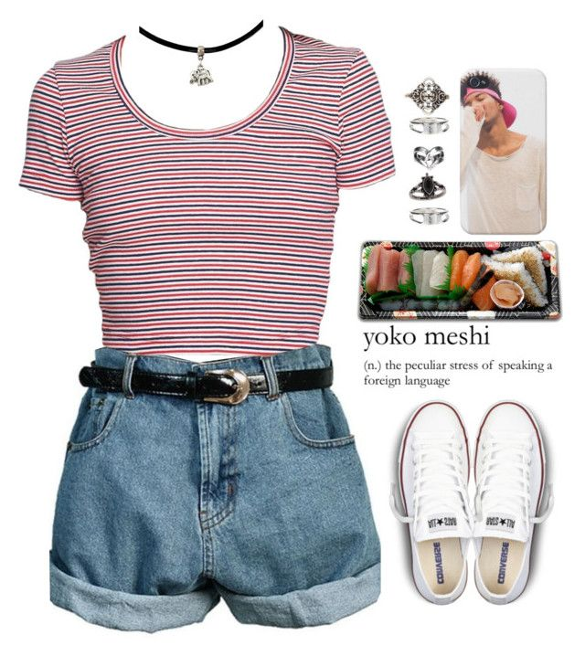 >.< by queenbrittani on Polyvore featuring polyvore, fashion, style, Converse, Relic, Charlotte Russe, Topshop and Jura