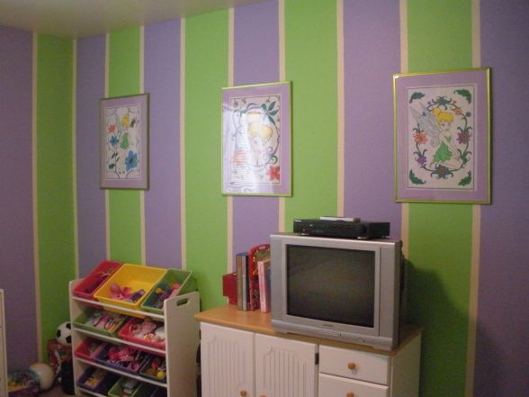 Summers Green And Purple Paradise A Fun Little S Room That Will