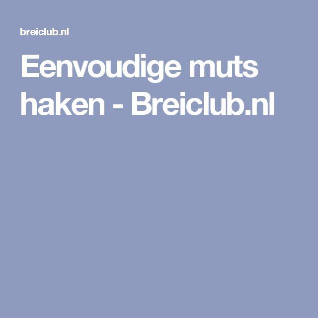 Eenvoudige muts haken - Breiclub.nl