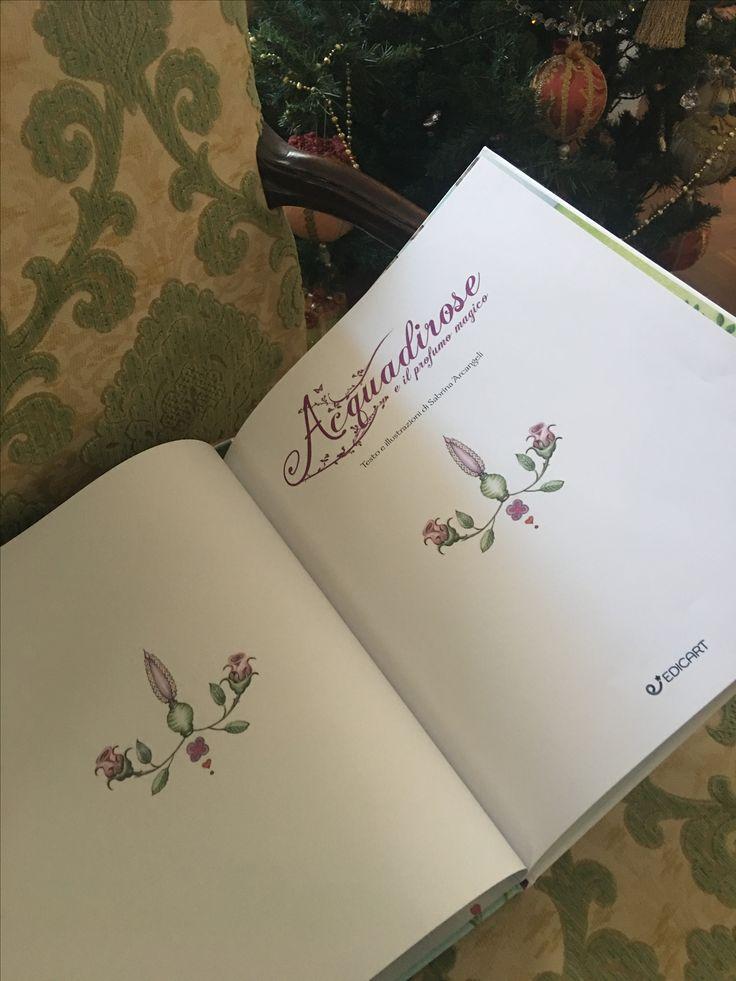 Acquadirose e il profumo magico#libriillustratiperbambini#fiabe#favole#principesse