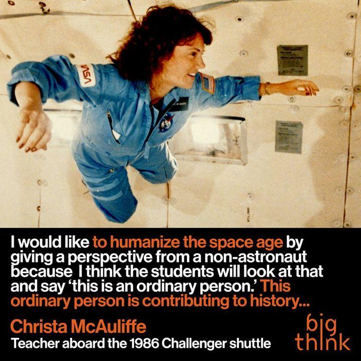25+ best ideas about Christa mcauliffe on Pinterest ...