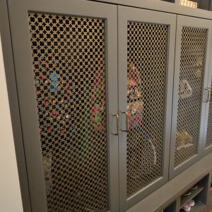 Wire Mesh Panels For Cabinet Doors