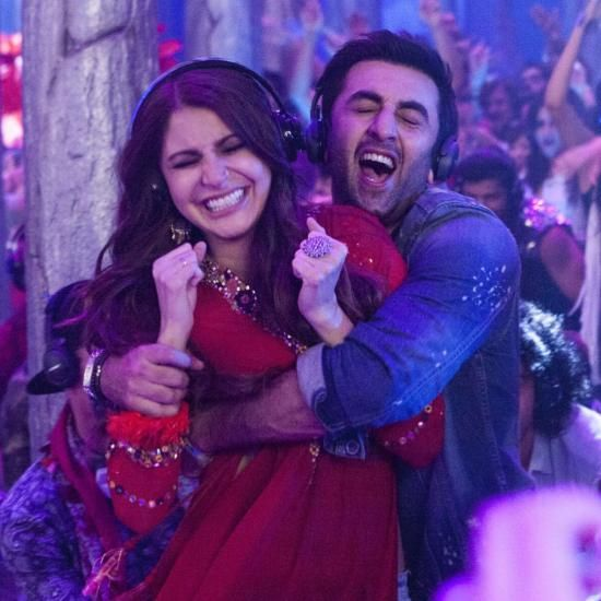 Candid! Ranbir and Anushka look cute as ever in this still from The Breakup Song