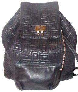e103e41b0c Lancel Backpack Messenger Mint Condition Drawstring Top Chic European Style  Backpack
