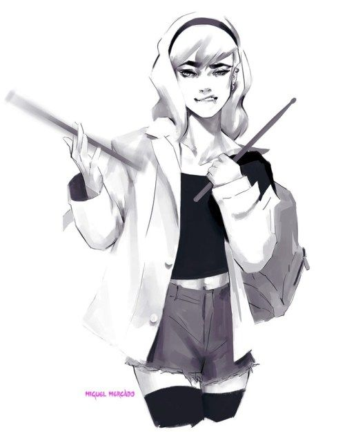 Gwen Stacy, Drummer for the Mary Janes - Miguel Mercado | Spider