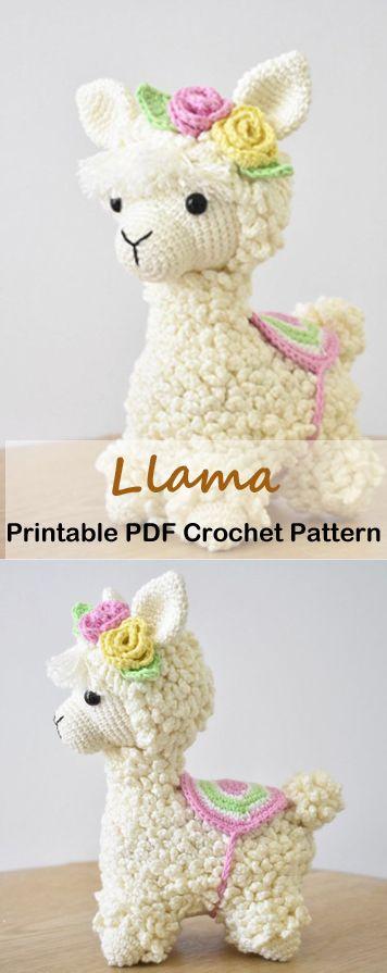Make a Cute Llama Toy