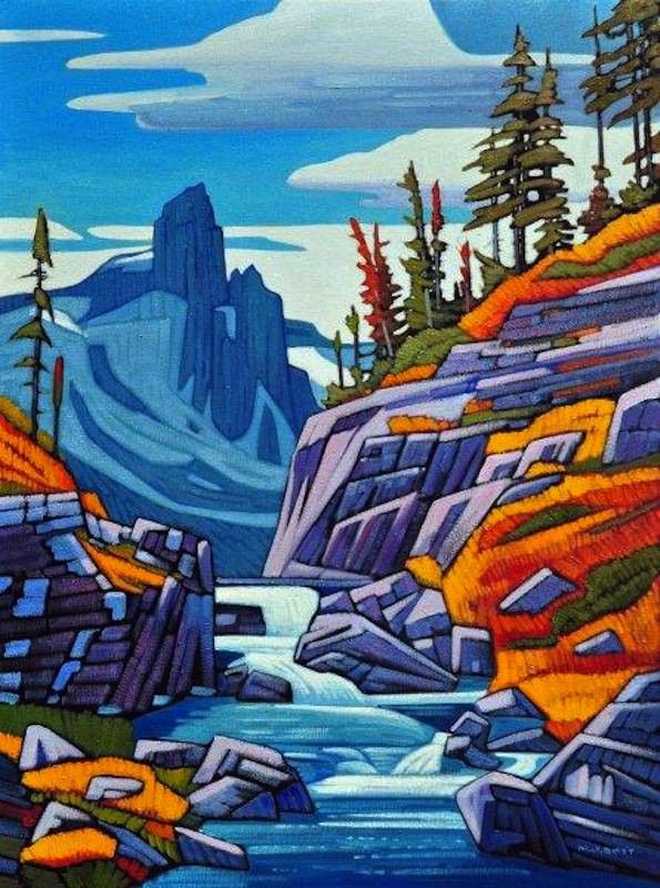 A collection of Paintings by Canadian Painter Nicholas Bott.