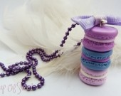 Collier trio macarons en fimo http://www.alittlemarket.com/boutique/cup_of_sweet-243830.html