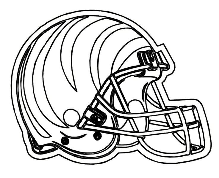 Coloring Rocks Football Helmets Football Coloring Pages Nfl Football Helmets