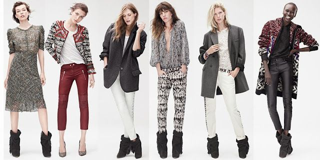 Isabel Marant & H&M http://www.fashionfiles.it/pagina.php?ID=370