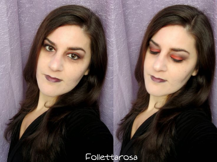 #halloween2014 #halloween #makeup #darkmakeup #dark  La mia proposta per halloween, un trucco semplice e veloce  http://www.follettarosamakeup.com/2014/10/trucco-per-halloween-in-10-minuti.html