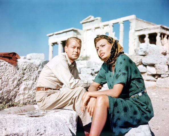 "VISIT GREECE| Films in Greece, ""Boy on a Dolphin, (1957) with Sophia Loren and Alan Ladd #Hydra #Delos #Athens #Rhodes #Meteora"
