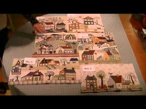 Final assembly - Mystery Quilt Yoko Saito by QUILTMANIA Editions http://www.quiltmania.com/english/home.html