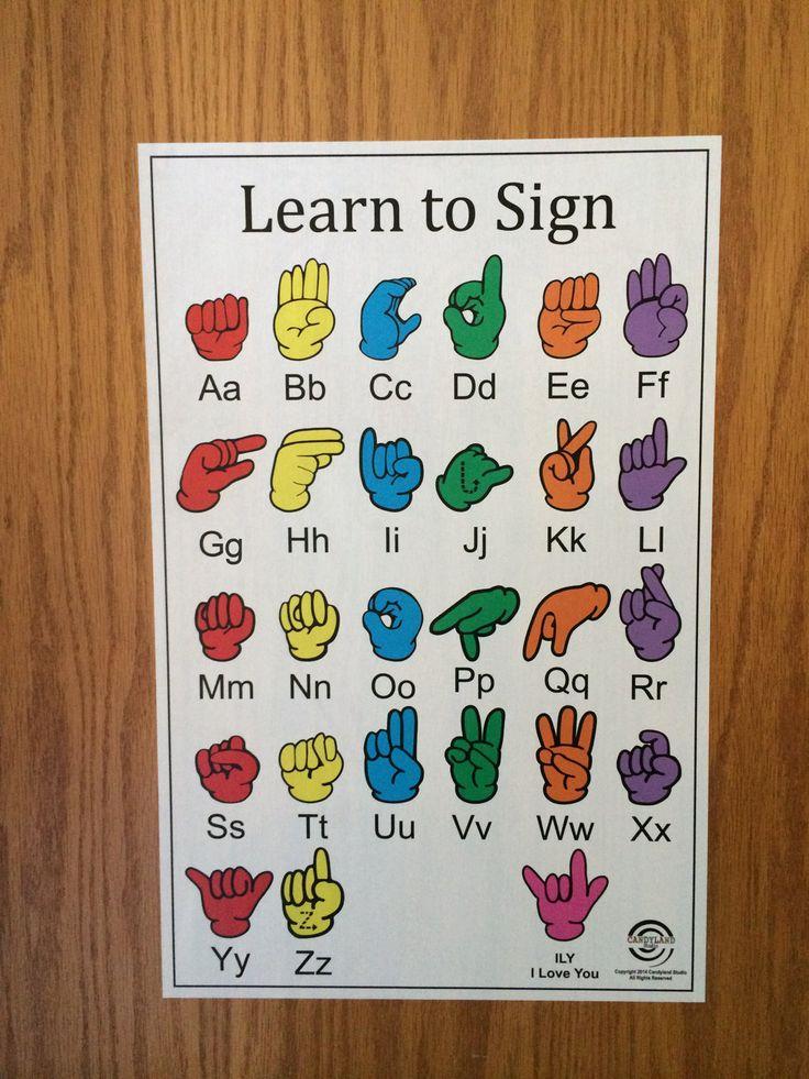 The 25+ best Sign language alphabet ideas on Pinterest ...