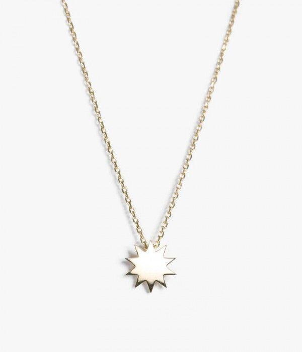 Carmen Diaz - Single Starburst Necklace