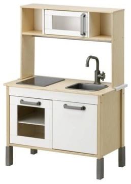 Duktig Play Kitchen Birch Plywood White
