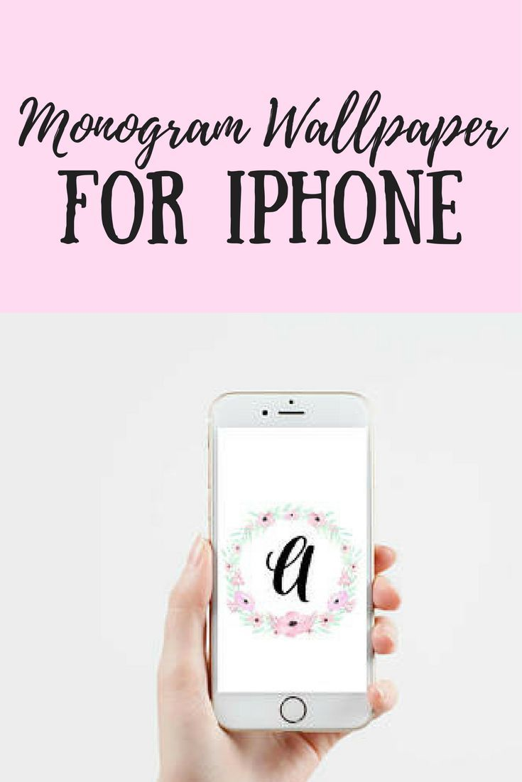 Oooh, what a pretty background for my phone!! Monogram Wallpaper with Floral Wreath (A-Z) - iPhone Wallpaper, Smartphone Wallpaper, Phone Background, Digital Download #ad #afflink #iphone #wallpaper