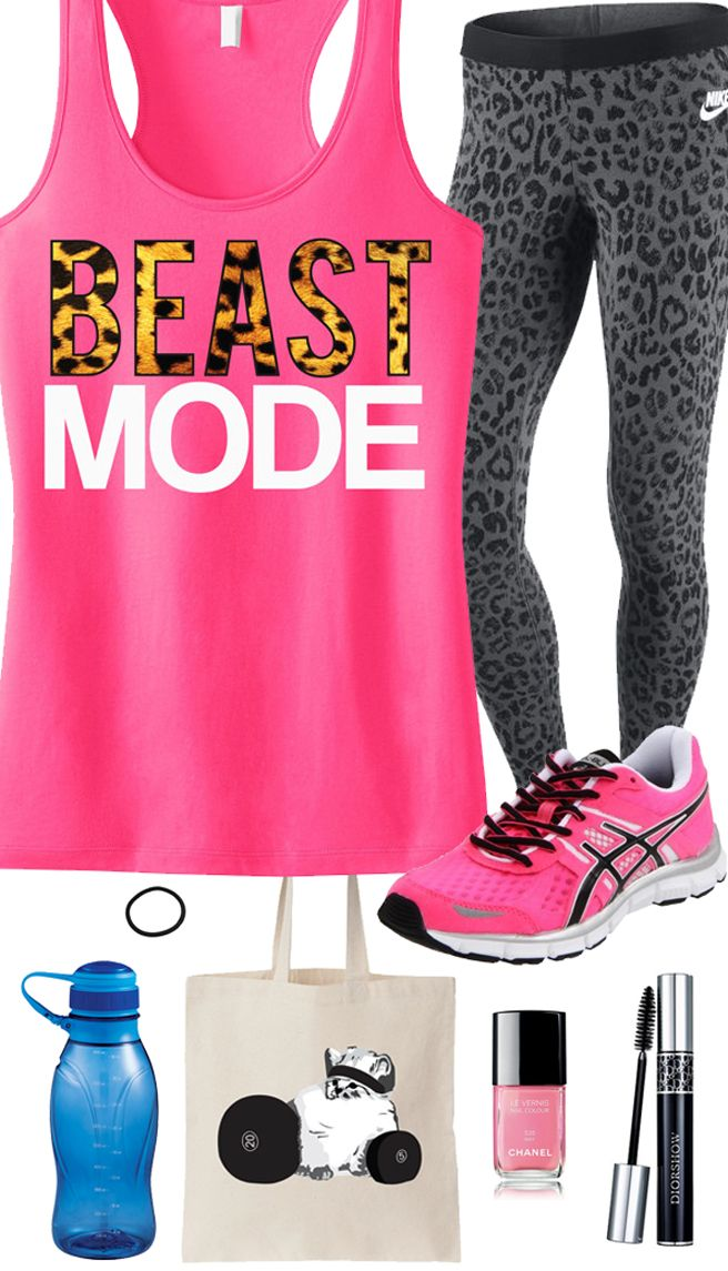 Bring out the #Beast in the Gym! Cool Leopard Pink #Workout Gear featuring a Beast Mode Leopard Racerback from #NobullWomanApparel. $24.99 on Etsy, click here to buy https://www.etsy.com/listing/155254833/beast-mode-leopard-on-pink-workout-tank?ref=shop_home_active_20