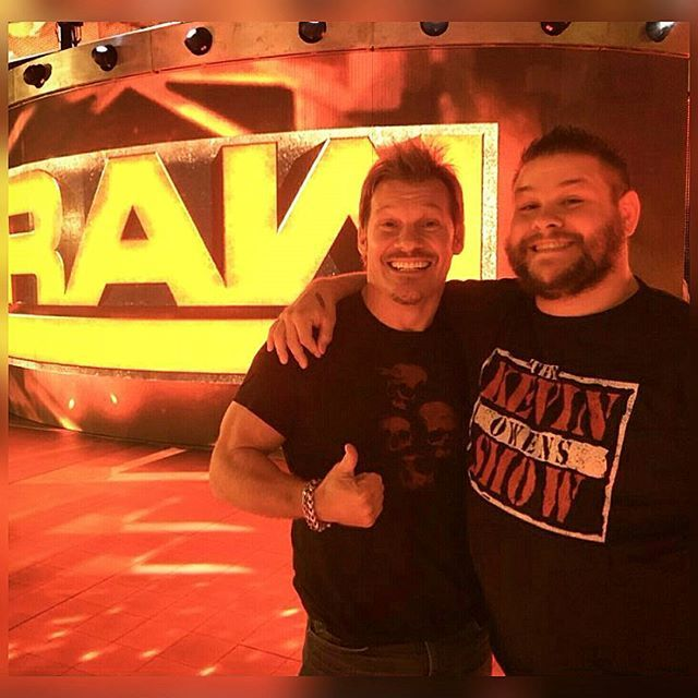Friendship Goals: Chris Jericho & Kevin Owens #wwe