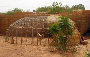 African chicken coop. Cool.