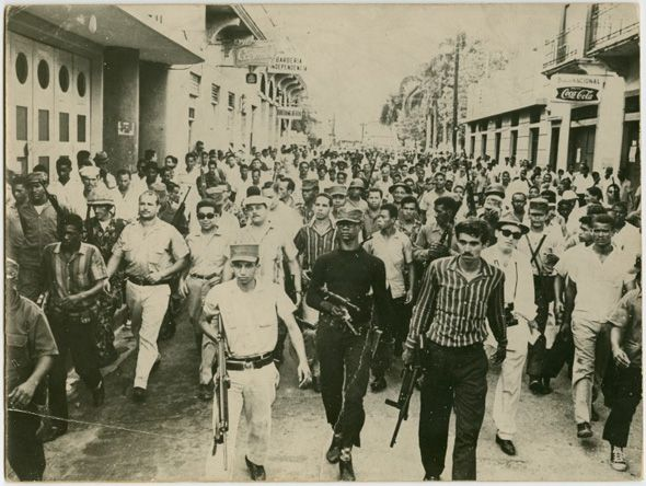 In 1959 A Group Exiled Dominicans Invaded The Island