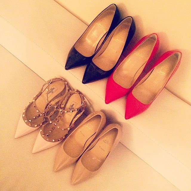 Shoes purchased for last one week... got a huge problem when deciding on shoe colors! #MYLUXLIST | Park Hyatt