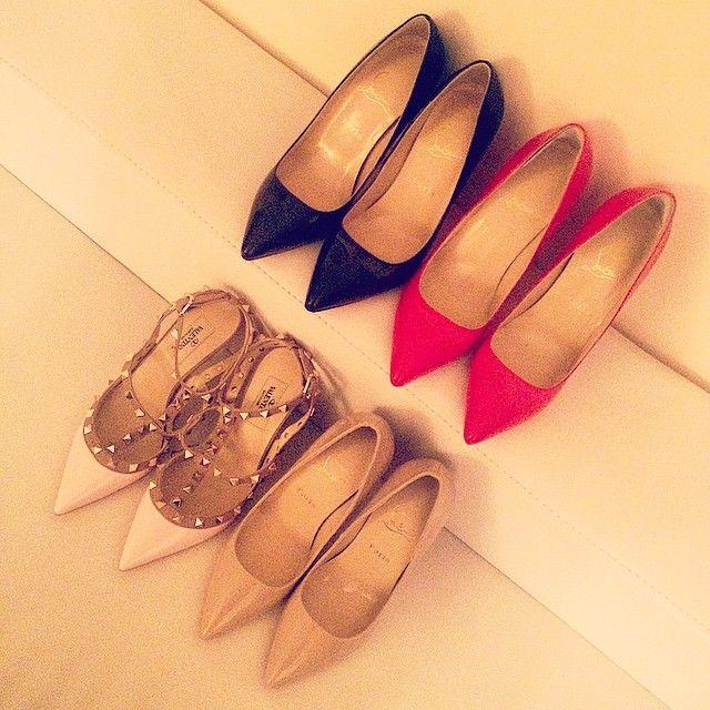 Shoes purchased for last one week... got a huge problem when deciding on shoe colors! #MYLUXLIST | Park Hyatt