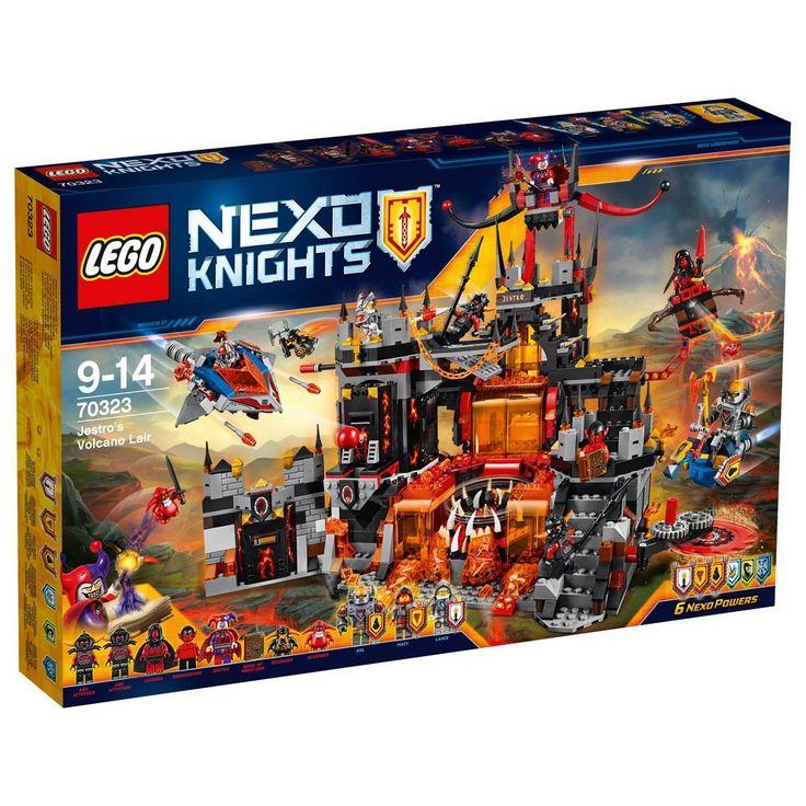 For Archie Jestro's Volcano Lair Lego Nexo Knights 70323