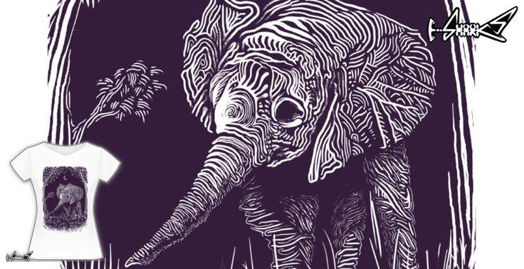 T-shirts - Design: Night Elephant - by: Rainvelle