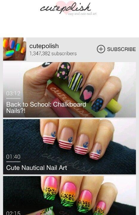 Cutepolish Map Nail Art | Hession Hairdressing