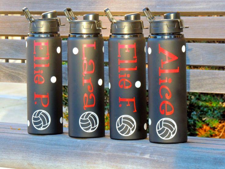 sports water bottle, aluminum water bottle, team water bottles,baseball personalized water bottle,softball water bottle, metal water bottles by ShopAroundTheCorner3 on Etsy