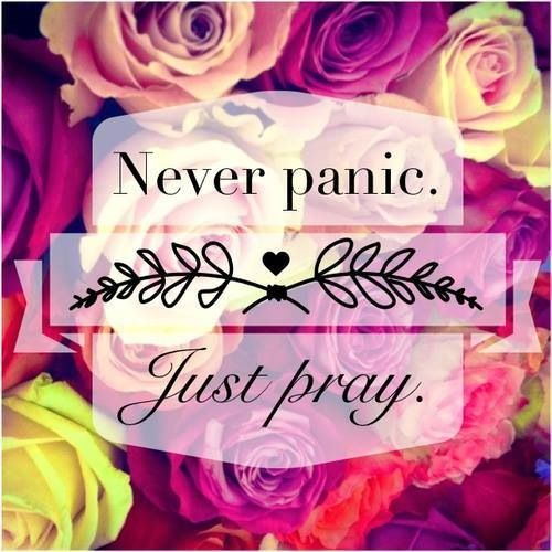 When in doubt pray                                                                                                                                                                                 More