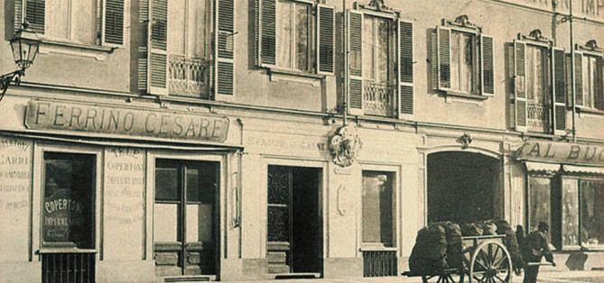 FERRINO - 1870 yılında, Kuzey İtalya'nın Alplerle çevrili Torino (Turin) şehrinde, küçük bir boya atölyesinde, Cesare Ferrino su geçirmez bir kumaş üretmeyi başarır ve bu kumaşla Alplere tırmanacak dağcılar için su geçirmez çadırlar üretmeye yapmaya başlar. 1890 yılında Fiat Şirketi, ürettiği otomobil koltuk ve kaputlarında bu kumaşları kullanmaya karar verir.  İtalyan ordusuda Ferrino çadırlarda karar kılar. Bu iki büyük müşteri, küçük Ferrino şirketini bir anda büyütür.