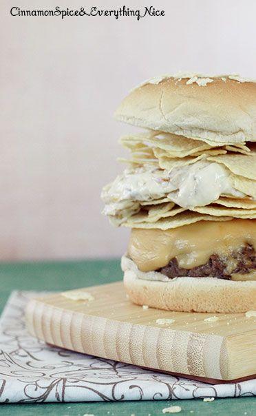 Potato Chip and Onion Dip Burgers: Potato Chip, Burgers Call, Chip ...