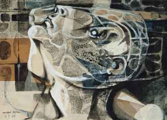Michael Ayrton - Membrane Maze Head