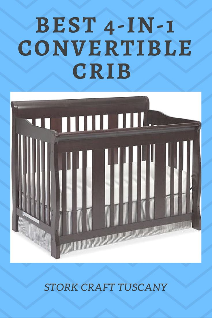 Use The Optional Toddler Guard Rail For Added Safety As Your Child Transitions From Crib To Big Kid Bed