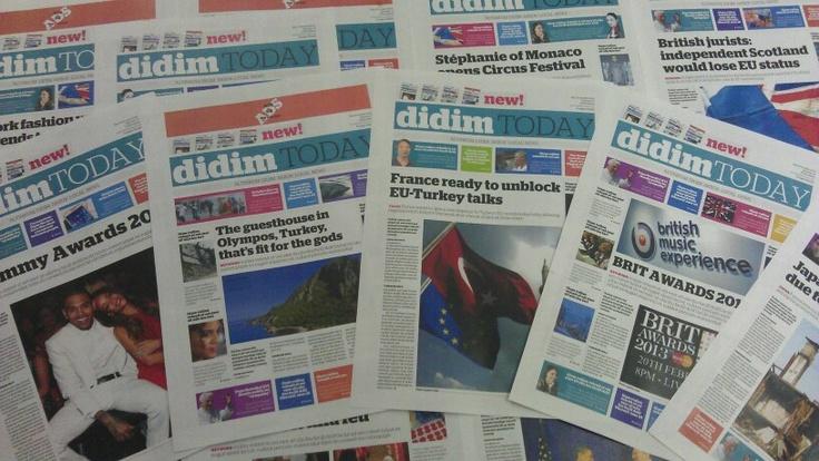 Didim today altinkum news printed version demos