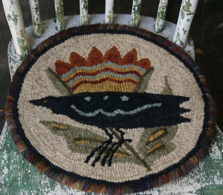 Wool Chair Pad By Susan Hoover, Really, Really Love This