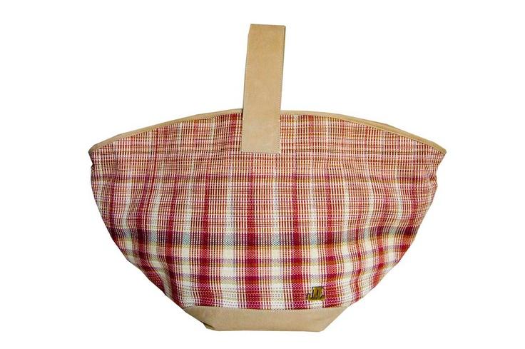 Woven basket by Cypriot designer/weaver