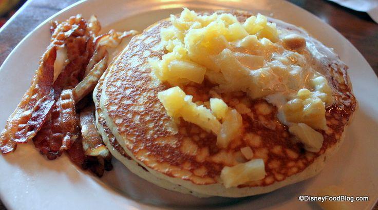 Review: Kona Cafe Breakfast at Disney's Polynesian Resort | the disney food blog: Disney World Restaurant, Cafe Macadamia, Disney Dining, Food Blogs, Pineapple Pancakes, Disney Food Blog, Cafe Breakfast, Disney Polynesian Resorts, Delicious Disney