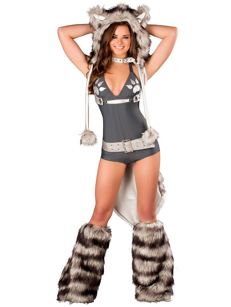 Sexy Wolf Romper | Wholesale Animal Costumes for Adults