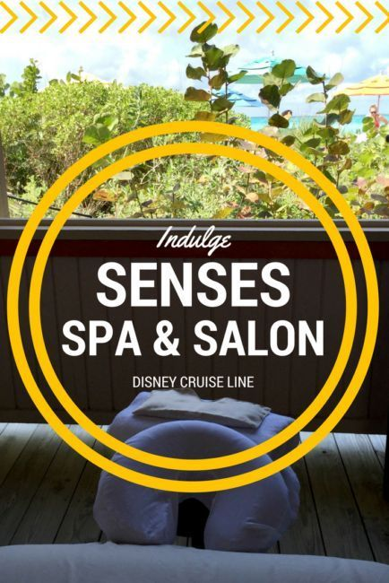 Senses Spa and Salon on the Disney Dream and why you should indulge on your next Disney Cruise Line vacation! Review Castaway Cay