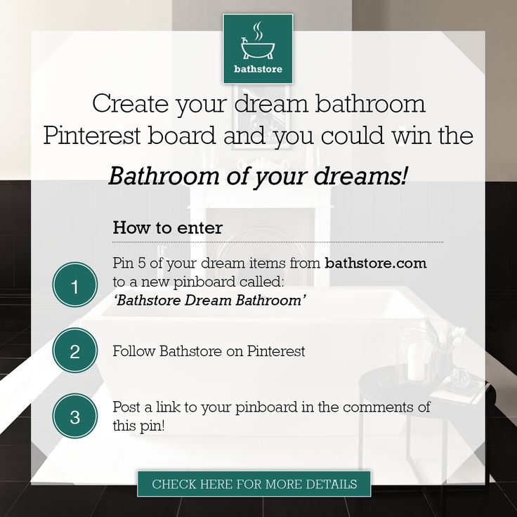 Enter for a chance to win the bathroom of your dreams.