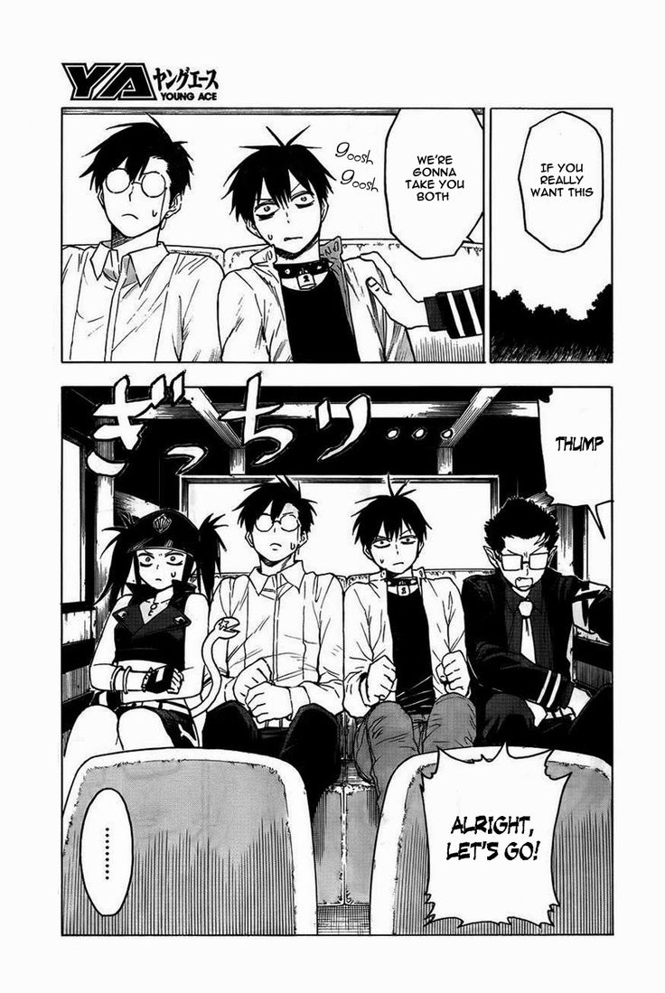 Read manga Blood Lad Vol.008 Ch.040 Read Online online in high quality